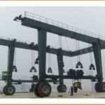 Rubber Tyre Travel Lift For Sale
