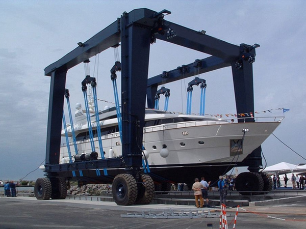 Ellsen 100 Ton Marine Travel Lift For Sale