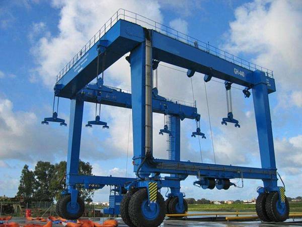 Ellsen Travel Lift Boat Hoist Equipment For Hot Sale