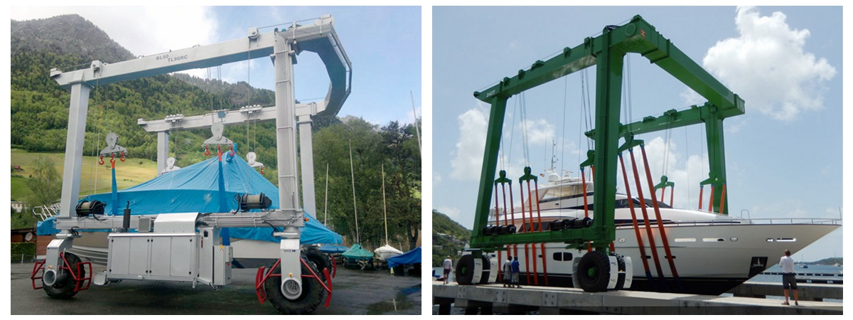 Flexible Mobile Boat Hoist For Sale