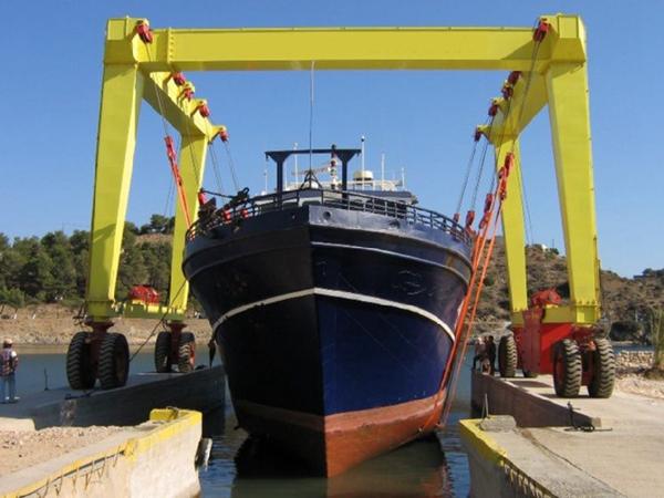 Great 35 Ton Boat Hoist Gantry Crane