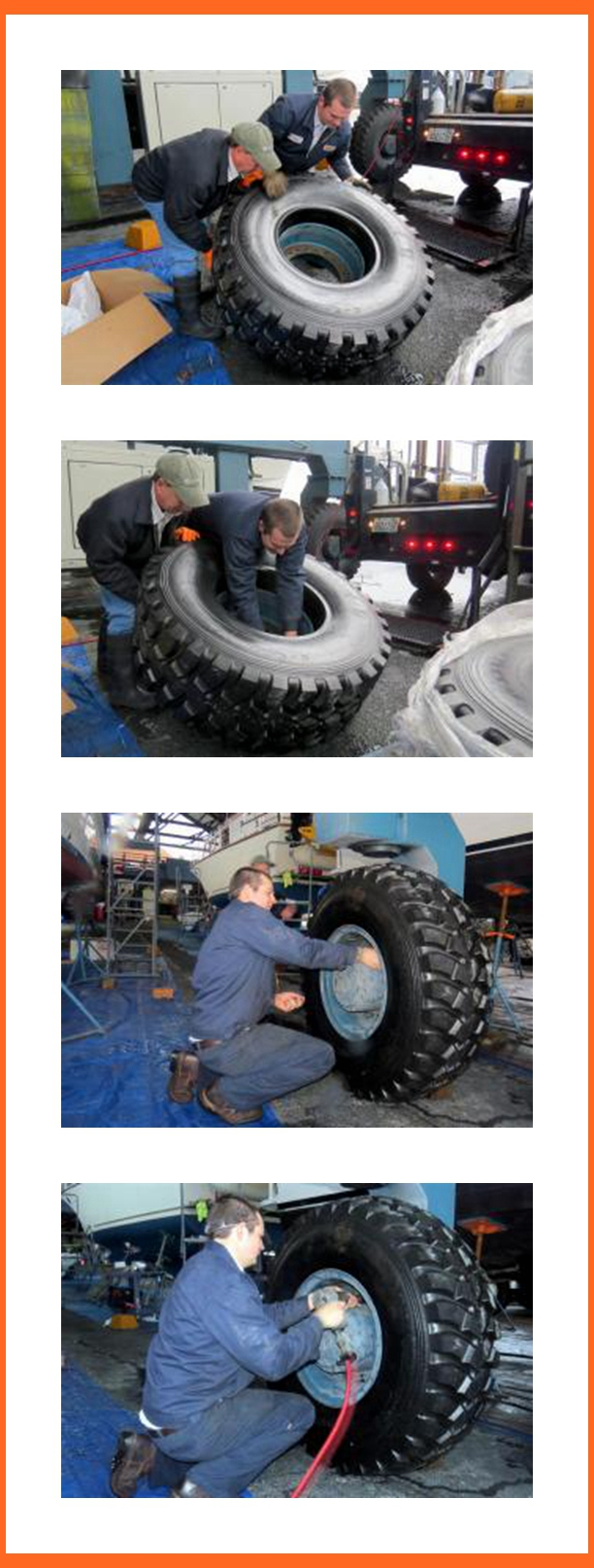 Ellsen Marine Travel Lifts Tires Top Quality