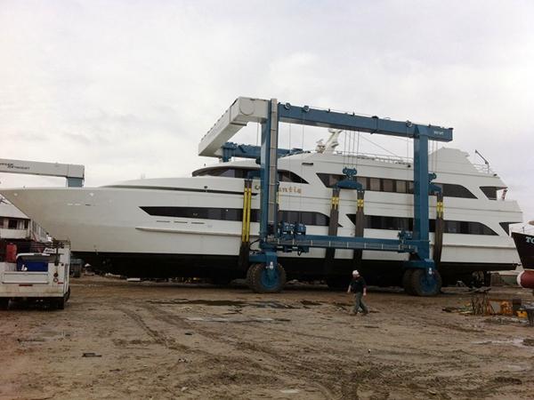 Mobile Boat Lift For Sale From Ellsen Best Travel Lift Boat Crane