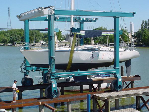 Ellsen Travel Lift For Boats Australia