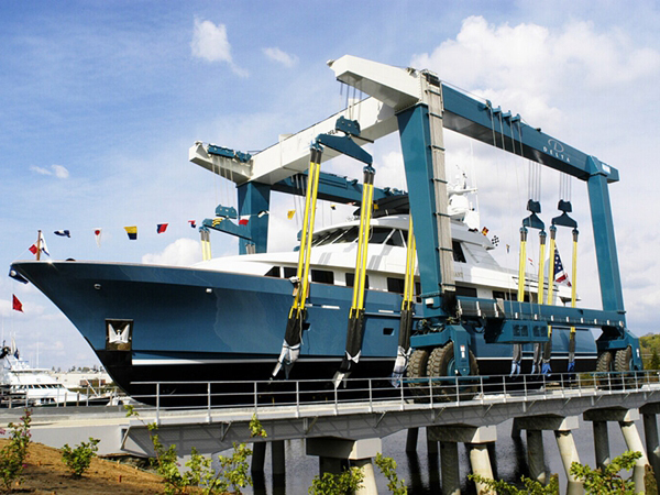 Marine Travel Hoist Yacht Travel Lift
