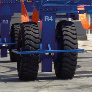 Marine Travel Lift 90 Degree Steering System