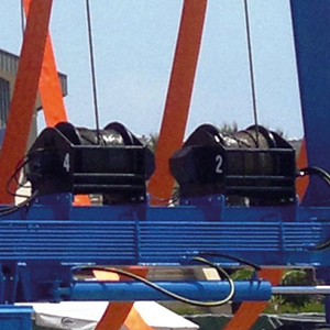 Marine Travel Lift Winches