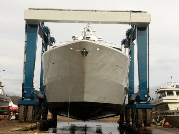Mobile Boat Hoist Crane Yacht Travel Lift