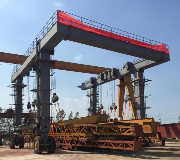 Boat Travel Lift Crane Testing
