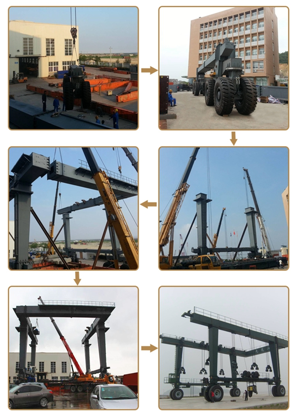 Great Boat Travel Hoist Crane Installation