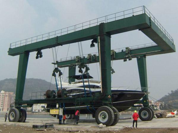 50 Ton Mobile Boat Hoist