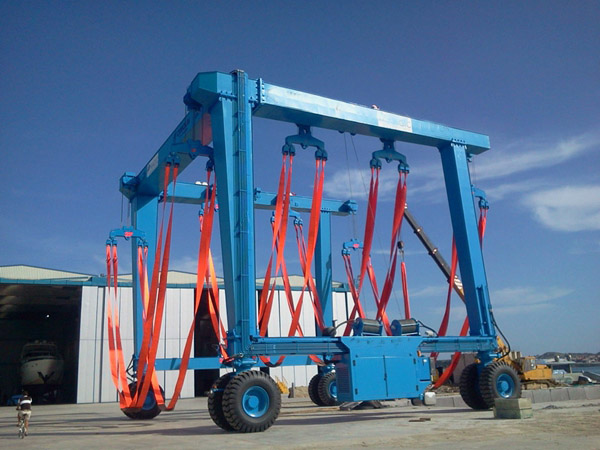 300 Ton Ship Travel Lift For Sale