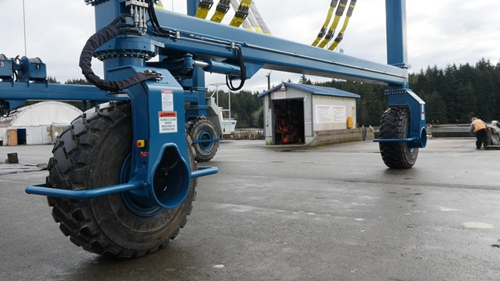 40 Ton Travel Lift Tyres