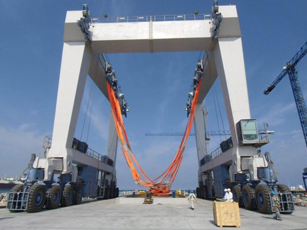 Mobile Boat Hoist 500 Ton
