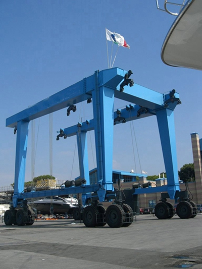 Mobile Boat Lift 60 Ton Crane