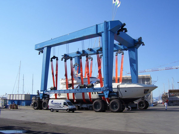 Qualified 200 Ton Travel Lift