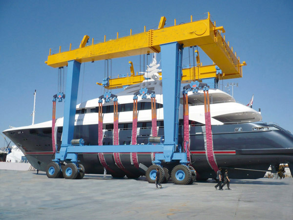 Reliable 40 Ton Marine Travel Lift