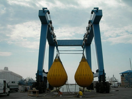 Reliable 60 Ton Mobile Boat Hoist Crane