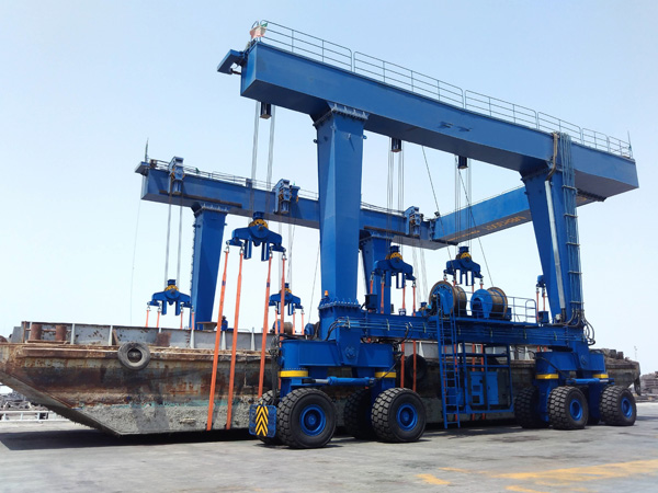 China Travel Lift Crane For Sale
