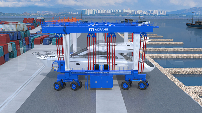 China Manufacturer Boat Travel Lift