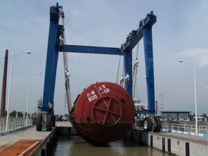 100 Ton Marine Travel Lift Manufacturer