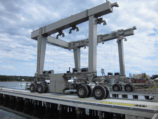 350 Ton Boat Travel Lift