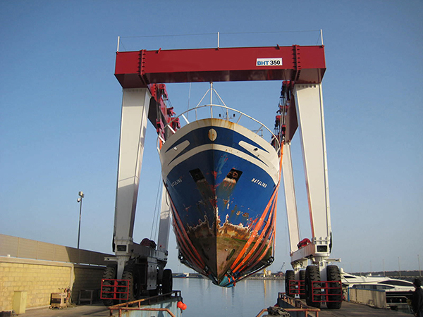 350 Ton Travel Lift Manufacturer