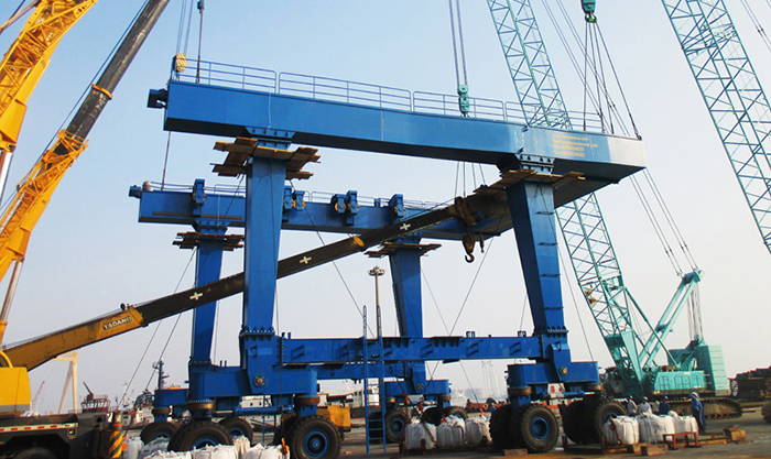 Travel Lift Crane for Boat