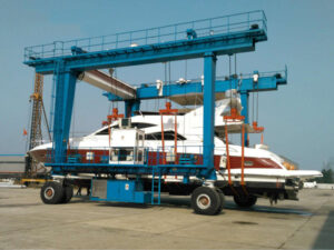 Boat Travel Lift For Aquatic Club